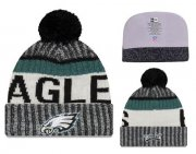 Wholesale Cheap NFL Philadelphia Eagles Logo Stitched Knit Beanies 001
