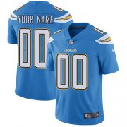 Wholesale Cheap Nike San Diego Chargers Customized Electric Blue Alternate Stitched Vapor Untouchable Limited Youth NFL Jersey