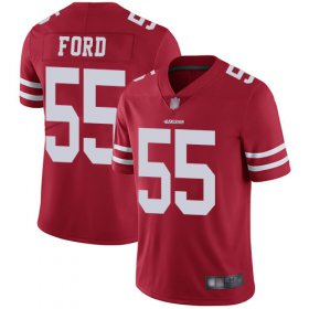 Wholesale Cheap Nike 49ers #55 Dee Ford Red Team Color Youth Stitched NFL Vapor Untouchable Limited Jersey