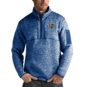 Wholesale Cheap Vegas Golden Knights Antigua Fortune Quarter-Zip Pullover Jacket Blue