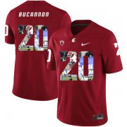 Wholesale Cheap Washington State Cougars 20 Deone Bucannon Red Fashion College Football Jersey