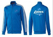 Wholesale Cheap NFL Detroit Lions Victory Jacket Blue_2
