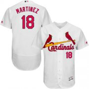 Wholesale Cheap Cardinals #18 Carlos Martinez White Flexbase Authentic Collection Stitched MLB Jersey