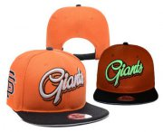 Wholesale Cheap MLB San Francisco Giants Snapback Ajustable Cap Hat