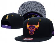Wholesale Cheap NBA Chicago Bulls Snapback Ajustable Cap Hat LH 03-13_11