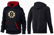 Wholesale Cheap Boston Bruins Pullover Hoodie Black & Red