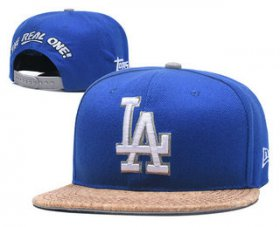 Wholesale Cheap MLB Los Angeles Dogers Snapback Ajustable Cap Hat 3