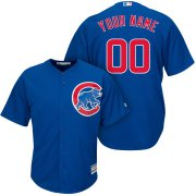Wholesale Cheap Chicago Cubs Majestic Cool Base Custom Jersey Royal
