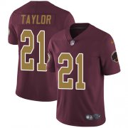 Wholesale Cheap Nike Redskins #21 Sean Taylor Burgundy Red Alternate Men's Stitched NFL Vapor Untouchable Limited Jersey