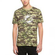 Wholesale Cheap Men's Miami Dolphins '47 Camo Alpha T-Shirt