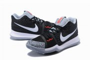 Wholesale Cheap Nike Kyire 3 Black Crack White