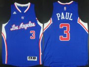 Wholesale Cheap Los Angeles Clippers #3 Chris Paul Revolution 30 Swingman 2014 New Blue Jersey