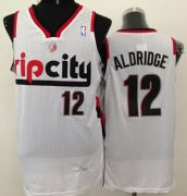 Wholesale Cheap Portland Trail Blazers #12 LaMarcus Aldridge Rip City White Swingman Jersey