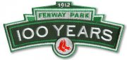 Wholesale Cheap Stitched 2012 Boston Red Sox Fenway Park 100th Year Patch