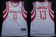 Wholesale Cheap Houston Rockets #13 James Harden Revolution 30 Swingman White Jersey