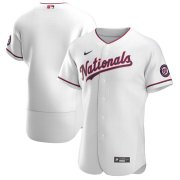 Wholesale Cheap Washington Nationals Men's Nike White Alternate 2020 Authentic Team MLB Jersey