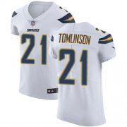 Wholesale Cheap Nike Chargers #21 LaDainian Tomlinson White Men's Stitched NFL Vapor Untouchable Elite Jersey