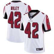 Wholesale Cheap Nike Falcons #42 Duke Riley White Men's Stitched NFL Vapor Untouchable Limited Jersey