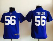 Wholesale Cheap Nike Giants #56 Lawrence Taylor Royal Blue Team Color Youth Stitched NFL Elite Jersey