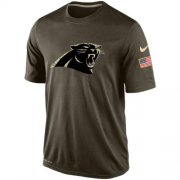 Wholesale Cheap Men's Carolina Panthers Salute To Service Nike Dri-FIT T-Shirt