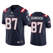 Wholesale Cheap New England Patriots #87 Rob Gronkowski Men's Nike Navy 2020 Vapor Limited Jersey