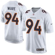 Wholesale Cheap Nike Broncos #94 DeMarcus Ware White Men's Stitched NFL Game Event Jersey