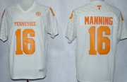 Wholesale Cheap Tennessee Volunteers #16 Peyton Manning 2013 White Jersey