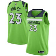 Wholesale Cheap Nike Minnesota Timberwolves #23 Jimmy Butler Green NBA Swingman Statement Edition Jersey