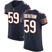 Wholesale Cheap Nike Bears #59 Danny Trevathan Navy Blue Team Color Men's Stitched NFL Vapor Untouchable Elite Jersey