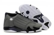 Wholesale Cheap Air Jordan 14 Retro Shoes Dark gray/Black