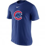 Wholesale Cheap Men's Chicago Cubs Nike Royal Batting Practice Logo Legend Performance T-Shirt