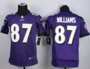 Wholesale Nike Ravens #87 Maxx Williams Purple Team Color Youth Stitched NFL New Elite Jersey
