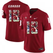 Wholesale Cheap Washington State Cougars 18 Anthony Gordon Red Fashion College Football Jersey