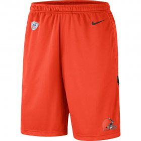 Wholesale Cheap Cleveland Browns Nike Sideline Coaches Shorts Orange