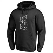 Wholesale Cheap Seattle Mariners Platinum Collection Pullover Hoodie Black