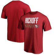 Wholesale Cheap San Francisco 49ers Fanatics Branded Kickoff 2020 T-Shirt Scarlet