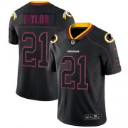 Wholesale Cheap Nike Redskins #21 Sean Taylor Lights Out Black Men's Stitched NFL Limited Rush Jersey