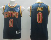 Wholesale Cheap Cleveland Cavaliers #0 Kevin Love Revolution 30 Swingman Navy Blue Jersey