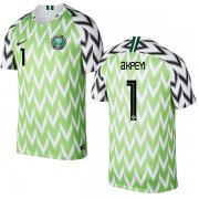 Wholesale Cheap Nigeria #1 Akpeyi Home Soccer Country Jersey