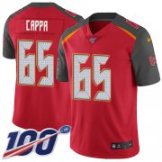 Wholesale Cheap Nike Buccaneers #65 Alex Cappa Red Team Color Men's Stitched NFL 100th Season Vapor Untouchable Limited Jersey