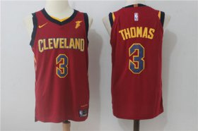 Wholesale Cheap Nike Cleveland Cavaliers #3 Isaiah Thomas Red Stitched NBA Swingman Jersey