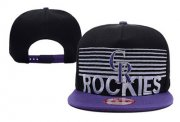 Wholesale Cheap MLB Colorado Rockies Snapback_18172