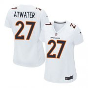 Wholesale Cheap Nike Broncos #27 Steve Atwater White Women's Stitched NFL Game Event Jersey