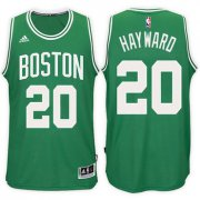 Wholesale Cheap Boston Celtics #20 Gordon Hayward Road Green New Swingman Jersey