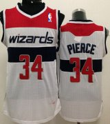 Wholesale Cheap Washington Wizards #34 Paul Pierce White Swingman Jersey