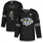 Wholesale Cheap Adidas Predators #4 Ryan Ellis Black Authentic Classic Stitched NHL Jersey