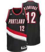 Wholesale Cheap Portland Trail Blazers #12 LaMarcus Aldridge Black Swingman Jersey