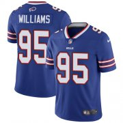 Wholesale Cheap Nike Bills #95 Kyle Williams Royal Blue Team Color Men's Stitched NFL Vapor Untouchable Limited Jersey