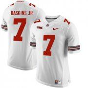Wholesale Cheap Ohio State Buckeyes 7 Dwayne Haskins White College Football Jersey