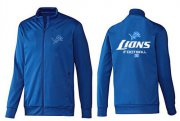 Wholesale Cheap NFL Detroit Lions Victory Jacket Blue_1